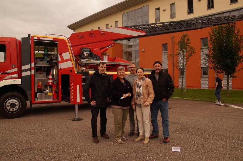 CDU bei Feuerwehrübung